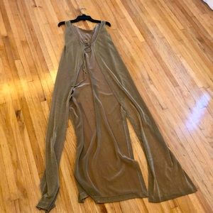 GOLD MAXI SHAWL - stunning over a dress or jeans